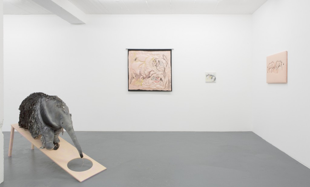 Mary-Audrey Ramirez, Gekkering, installation view, 2015, photo: Tamara Lorenz