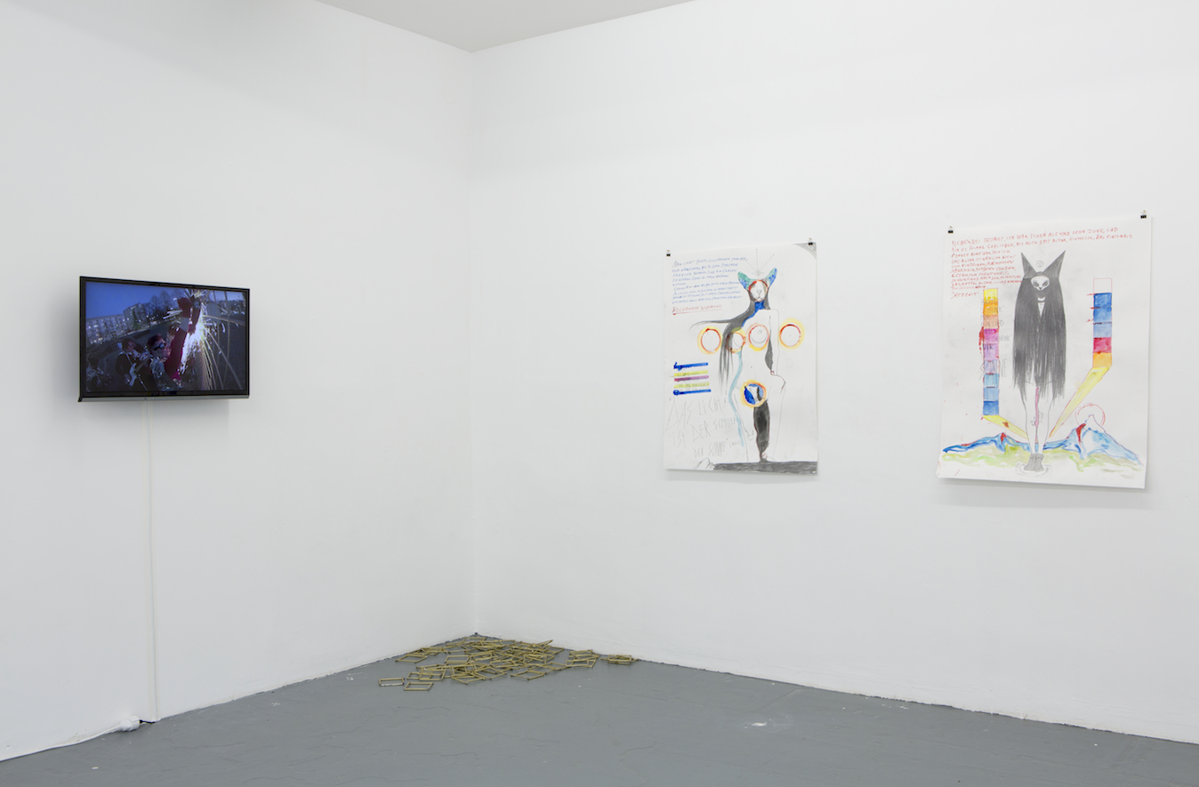 Installation view Closed Universe, Günter Brus & Thomas Palme, donhofer., Photo: Tamara Lorenz