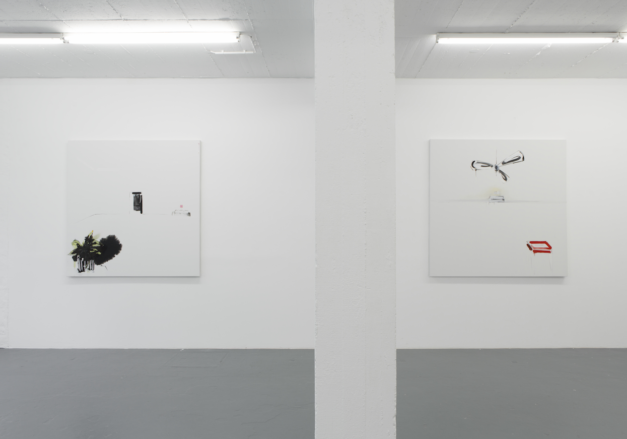 "Installation View Panos Papadopoulos ""Blank Views"", 2016"